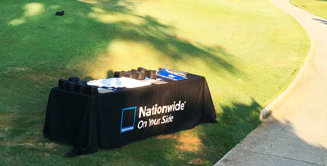 Watson Insurance Group - Nationwide table at Communicator Cup 2016